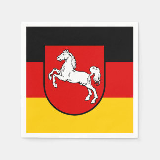 Flag of Lower Saxony Disposable Napkin