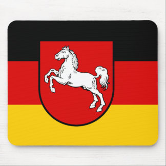 Flag of Lower Saxony Mouse Pad