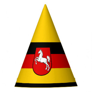 Flag of Lower Saxony Party Hat
