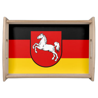 Flag of Lower Saxony Serving Tray