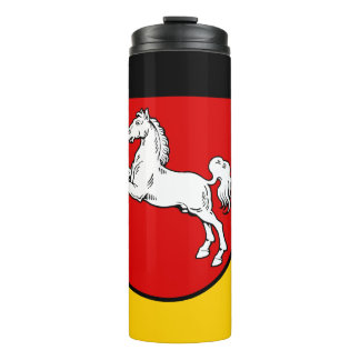 Flag of Lower Saxony Thermal Tumbler