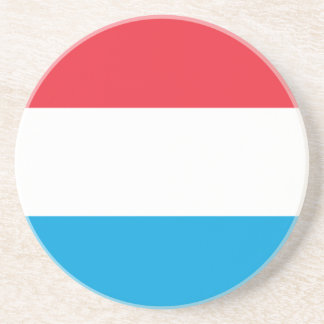 Flag_of_Luxembourg Beverage Coaster