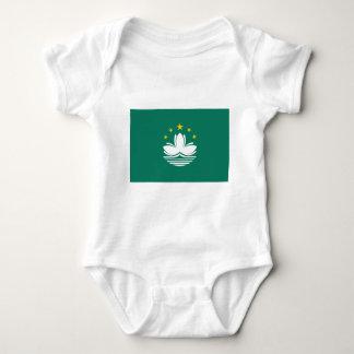 Flag of Macau Baby Bodysuit