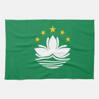 Flag of Macau Kitchen Towel