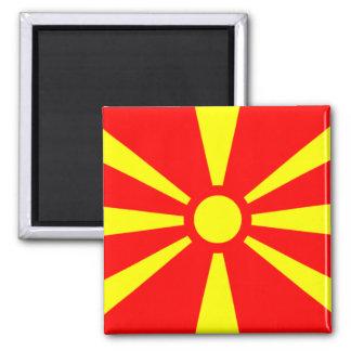 Flag of Macedonia Magnet