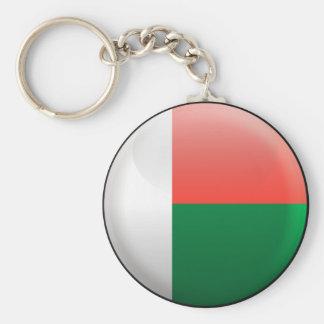 Flag of Madagascar Keychain