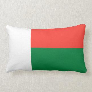 Flag of Madagascar Lumbar Pillow
