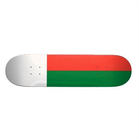 Flag of Madagascar Skateboard Deck