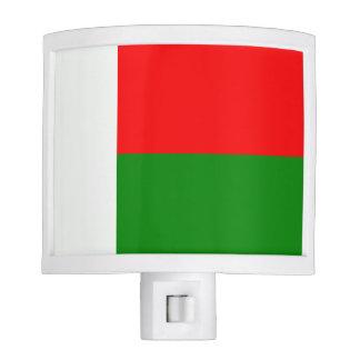 Flag of Madagaskar Nite Light
