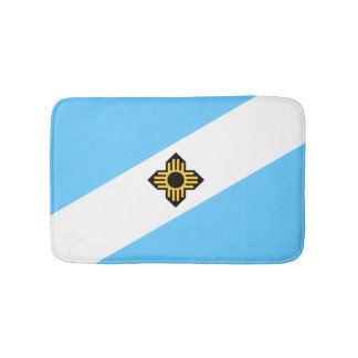Flag of Madison, Wisconsin Bath Mat