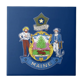 Flag Of Maine Tile