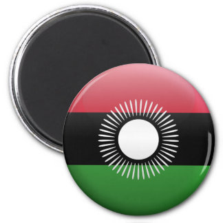 Flag of Malawi 2 Inch Round Magnet