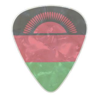 Flag of Malawi Guitar Picks Pearl Celluloid Guitar Pick
