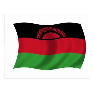 Flag of Malawi Postcard