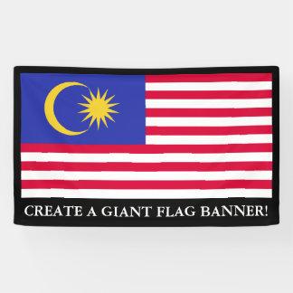 Flag of Malaysia Banner