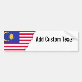 Flag of Malaysia Bumper Sticker
