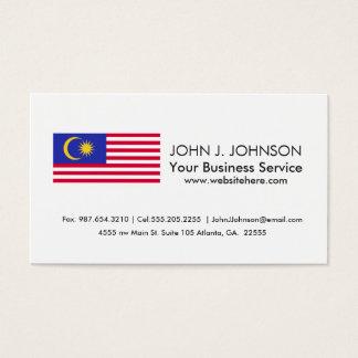 Flag of Malaysia Business Card