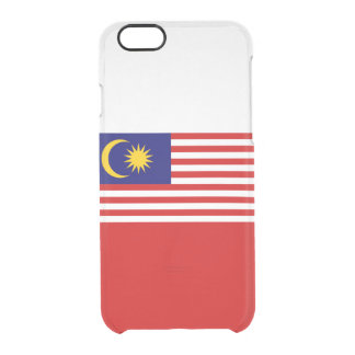 Flag of Malaysia Clear iPhone Case