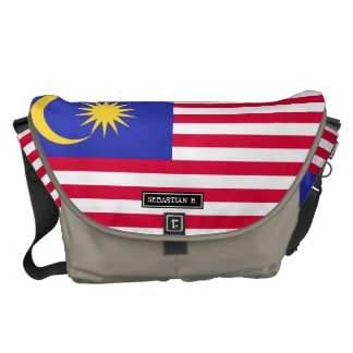 Flag of Malaysia Courier Bags