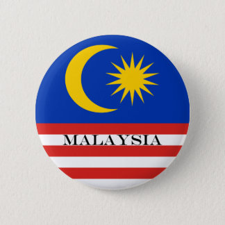Flag of Malaysia Jalur Gemilang 2 Inch Round Button