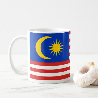 Flag of Malaysia Jalur Gemilang Coffee Mug