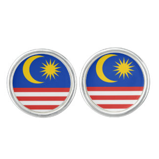 Flag of Malaysia Jalur Gemilang Cufflinks