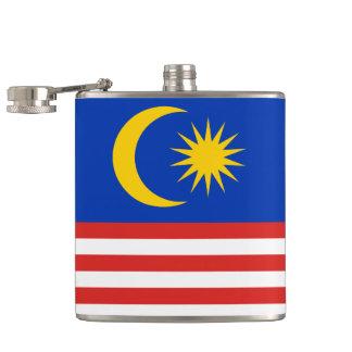 Flag of Malaysia Jalur Gemilang Hip Flask
