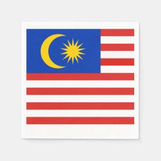 Flag of Malaysia Jalur Gemilang Paper Napkin