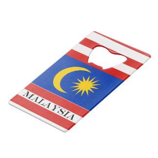 Flag of Malaysia Jalur Gemilang Wallet Bottle Opener