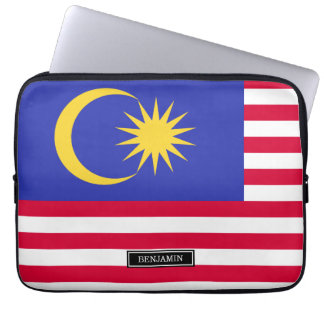 Flag of Malaysia Laptop Sleeve