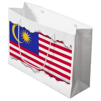 Flag of Malaysia Large Gift Bag