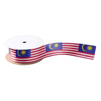 Flag of Malaysia Satin Ribbon