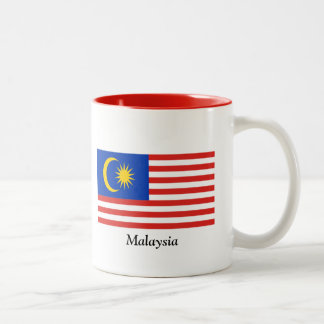 Flag of Malaysia Two-Tone Coffee Mug