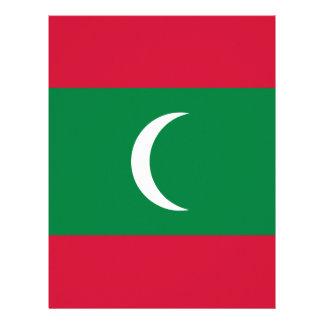 Flag_of_Maldives Letterhead