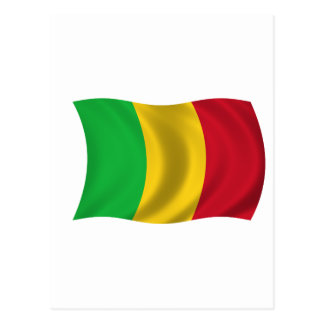Flag of Mali Postcard