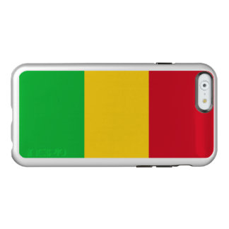 Flag of Mali Silver iPhone Case