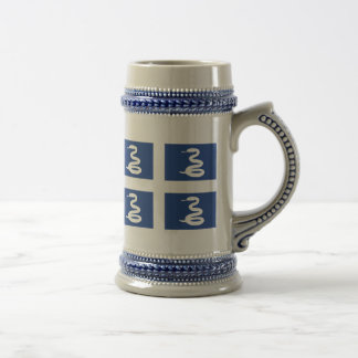 Flag of Martinique Beer Stein