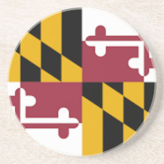 Flag Of Maryland Coaster