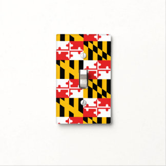 Flag of Maryland Light Switch Cover