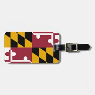 Flag Of Maryland Luggage Tag