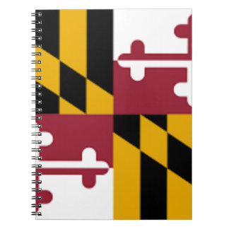 Flag Of Maryland Notebook