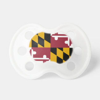 Flag Of Maryland Pacifier