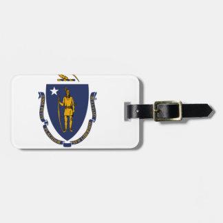 Flag Of Massachusetts Luggage Tag