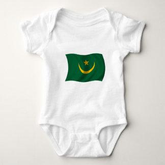 Flag of Mauritania Baby Bodysuit