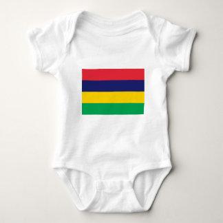 Flag_of_Mauritius Baby Bodysuit