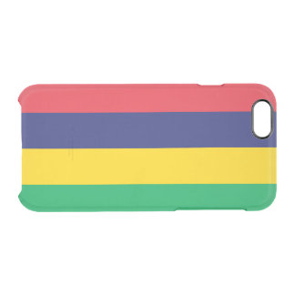 Flag of Mauritius Clear iPhone Case