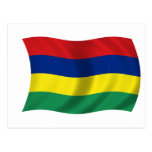 Flag of Mauritius Post Cards