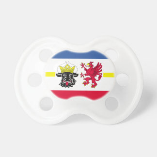 Flag of Mecklenburg-Western Pomerania Pacifier