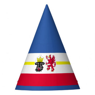Flag of Mecklenburg-Western Pomerania Party Hat