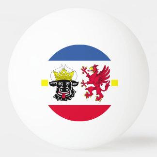 Flag of Mecklenburg-Western Pomerania Ping Pong Ball